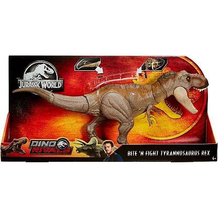 Jurassic World - Tiranossauro Rex De Batalha - Mattel