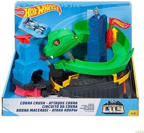 Hot Wheels Conjunto Ataque da Cobra - Mattel