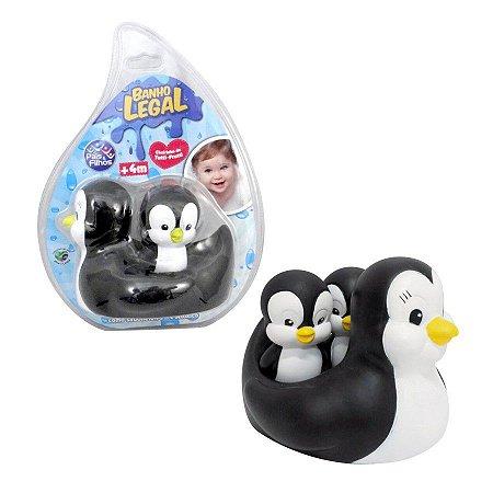 Pinguim Mãe c/ Filhotes- Pais e Filhos