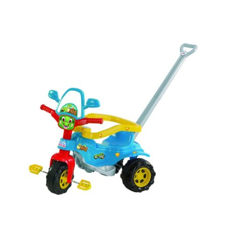 Triciclo Tico Tico Dino - Azul - Magic Toys