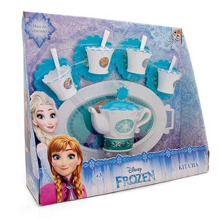 Kit de Chá com Bandeja Frozen Toyng
