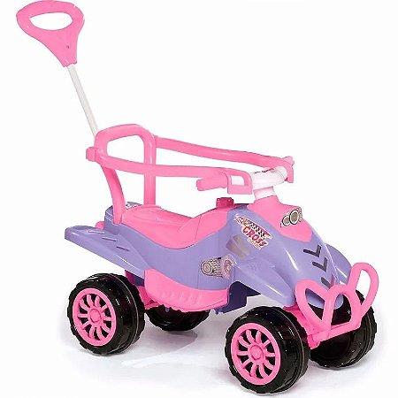 Quadriciclo Infantil Cross Pink Calesita