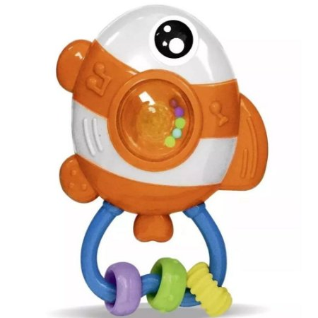 Chocalho Amigos Do Mar Peixe ZP00140 - Zoop Toys