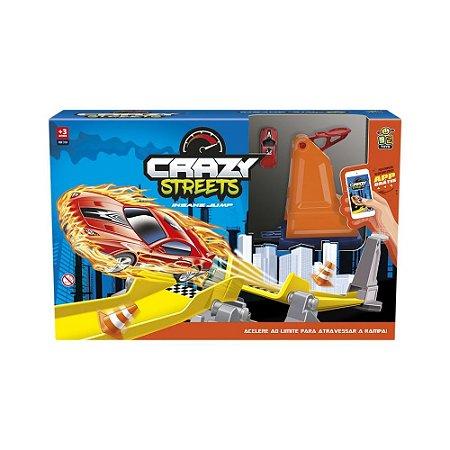 Pista Crazy Street Ramp 320 - Bs Toys