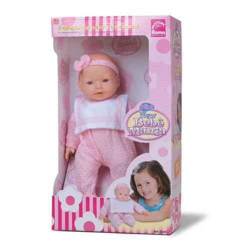 Boneca Mini   Bebe Mania