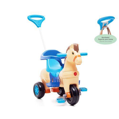 Triciclo Polo 2 Em 1 Azul 1011 Calesita