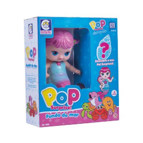 Boneca Pop Surprise Fundo Do Mar Cotiplas