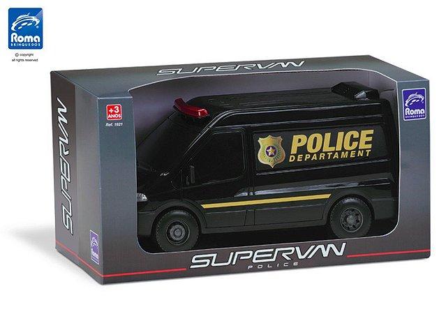 Carro Supervan Roma Police