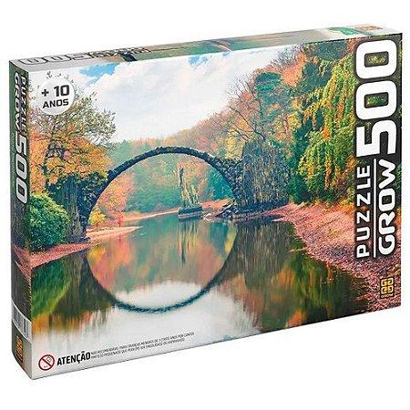 Puzzle Quebra Cabeças 500 Peças Ponte Espelhada - Grow
