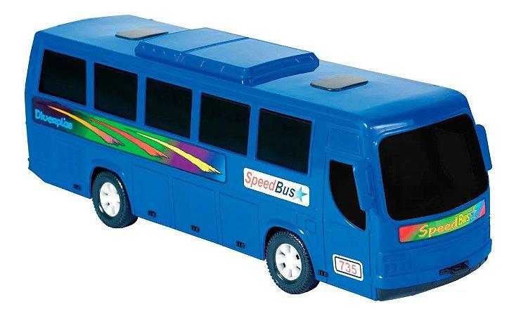 Ônibus De Brinquedo Speed - Diverplas