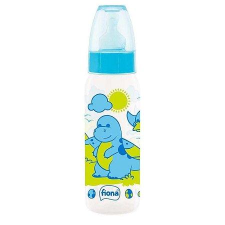 Lillo Mamadeira Fiona Desenhos Ortodontico Silicone Azul