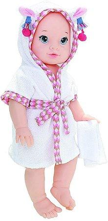 Boneca Splash Babies - Lhama Anjo Branca