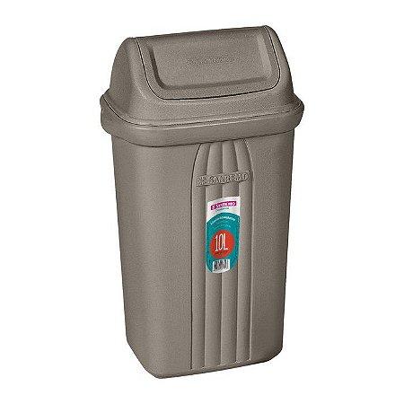 Lixeira Basculante Plástico Sanremo 10L 28120
