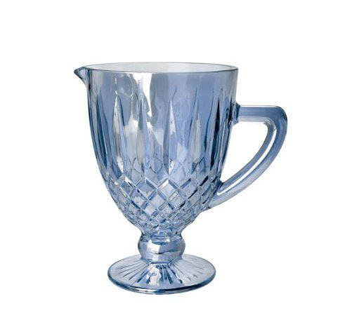 Jarra de vidro Greek Azul 1L - Rojemac