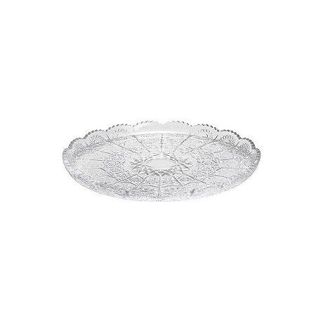 Prato de Bolo em Cristal 30cm - Rojemac