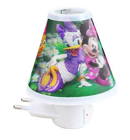 Luminária Em Formato Cone Minnie Etitoys