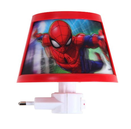 Luminária Led Spiderman Etitoys