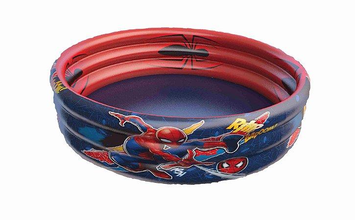 Piscina 115 litros 83x25 Spiderman Etitoys