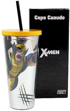 Copo  Zona Criativa Canudo - X-Men
