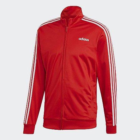Jaqueta Adidas De Malha Essentials 3-Stripes