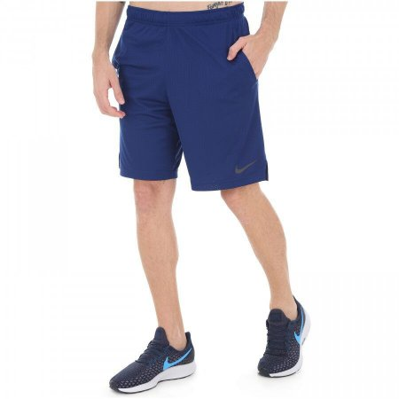 Shorts Nike Monster Mesh 4.0 Masculino - Azul