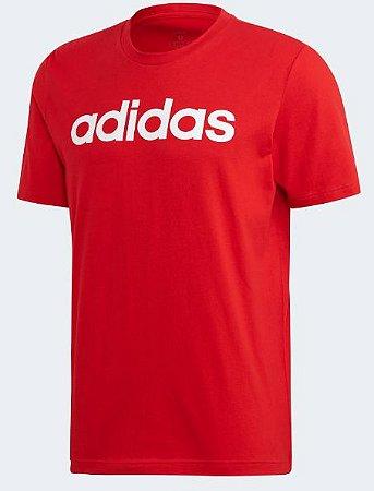 Camiseta Logo Essentials Linear Adidas