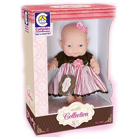 Boneca Dolls Collection Cotiplás