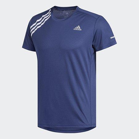 Camiseta Adidas Run It 3-Stripes