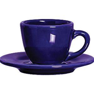 Xicara Com Pires Azul Royal - Scalla