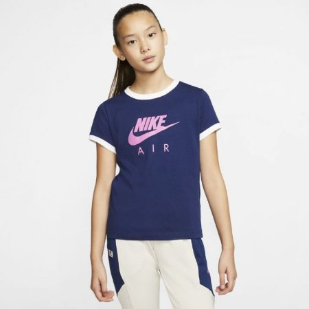 Camiseta Azul Air Infantil - Nike