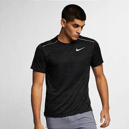 Camisa Nike Miler Preta - Masculina
