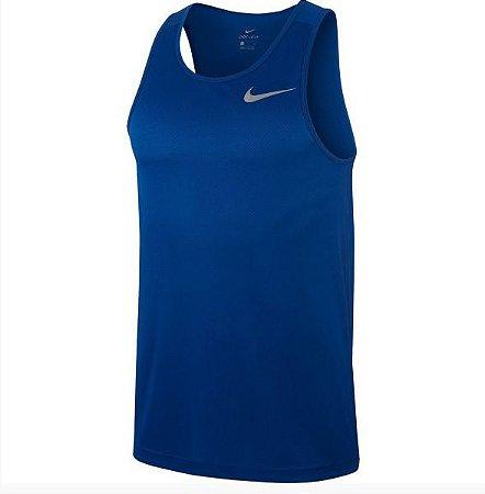 Regata Nike Breathe Run Ta - Azul