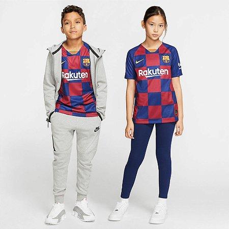 Camisa Nike Barcelona I Torcedor Pro 2019/20 Infantil