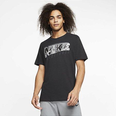 Camiseta Dri-FIT Preta Nike - Masculina