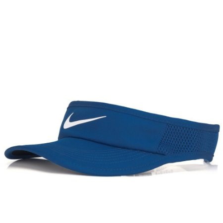 Viseira Nike Featherlight Azul Unissex
