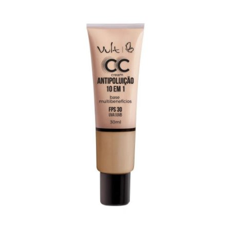 Base CC Cream Antipoluição 10 em 1 MB03 30ml- Vult