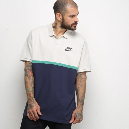 Camisa Polo Nike NSW Matchup Masculina - Marinho