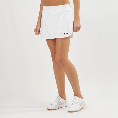 Short Saia Nike Pura Corte Feminino - Branco