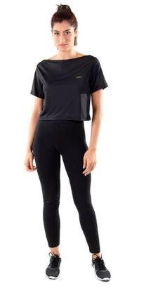 Camiseta Cropped Fit  Olympikus -  Feminina