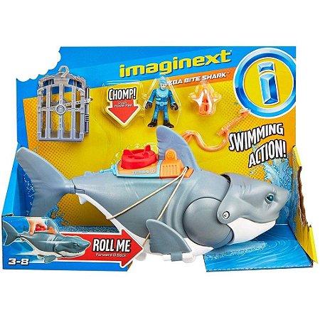 Imaginext Tubarao Mega Mordida Fisher-Price Mattel