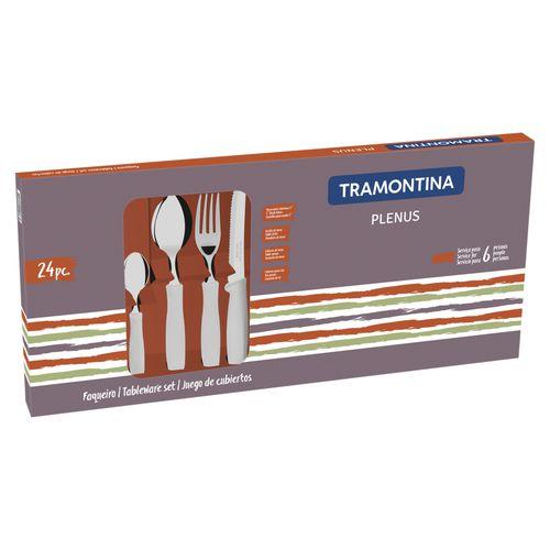Faqueiro Tramontina Plenus Off-White - 24 Peças