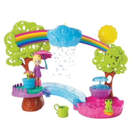 Polly Pocket Diversão Na Chuva Mattel