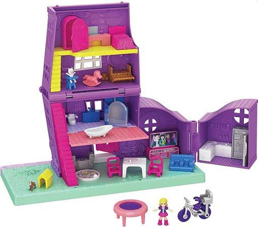 Polly Pocket - Pollyville Casa de Polly - Mattel