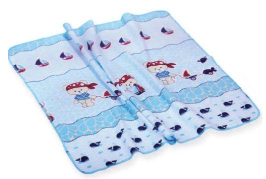 Cobertor Bordado Filhotes Azul Minasrey- Infantil