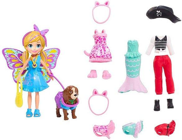 Polly Pocket Kit Cachorro Fantasias Mattel