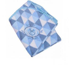 Cobertor Bordado Azul Muito Mimo Minasrey -Infantil