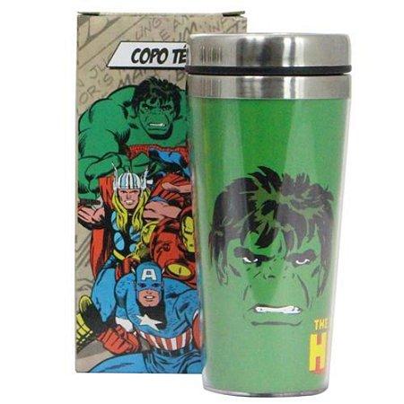 Copo Zona Criativa Térmico de Viagem - Hulk Comics