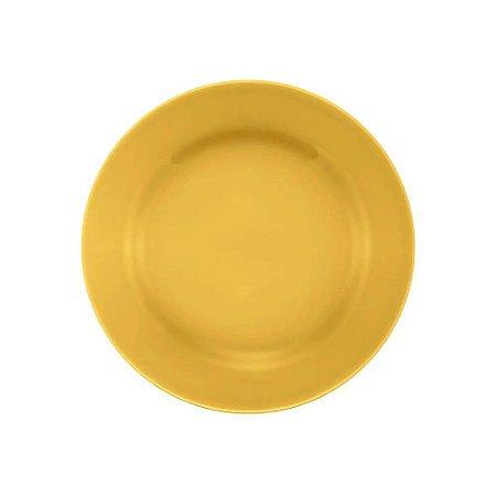 Prato Oxford Sobremesa 19cm Amarelo Ae035014