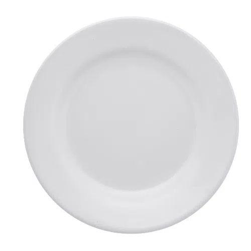 Prato Oxford Sobremesa 19cm Branco Ae035002