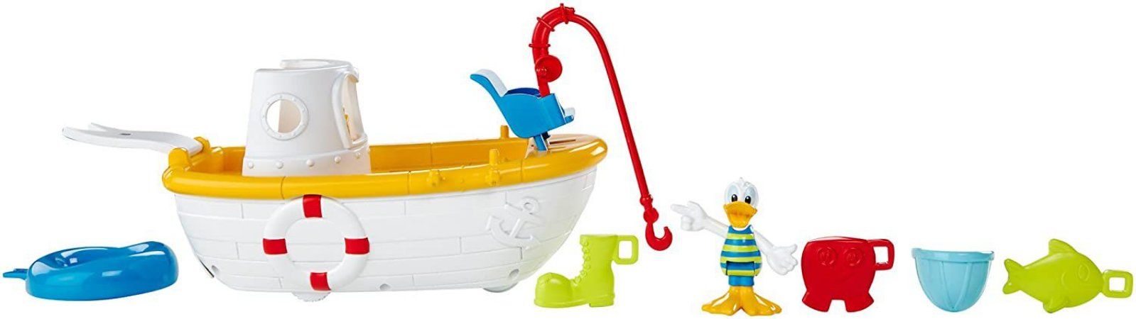 Mickey Mouse Clubhouse Quacky Fishing Boat Mattel